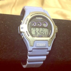 Casio Illuminator LW-202H Lt Purple Sports Watch